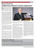 ‹nsan Ticareti: Ma¤durlara Hukuki Yard›m Sa ... - İstanbul Barosu - Page 7