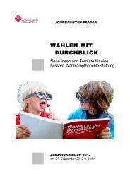 WAHLEN MIT DURCHBLICK - Drehscheibe