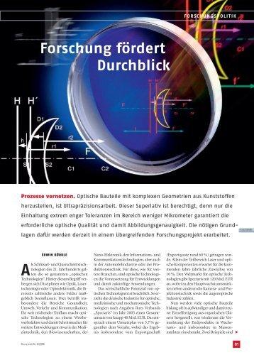 Forschung fördert Durchblick - Krauss Maffei