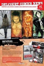 Delcourt Comics News n°1 - Mai/Juin 2013