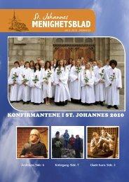 KONFIRMANTENE I ST. JOHANNES 2010 - Kirken i Stavanger