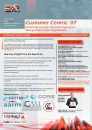 Enhancing Strategic Customer Experience Management ... - EMP Asia