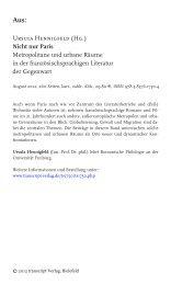 Leseprobe - transcript Verlag