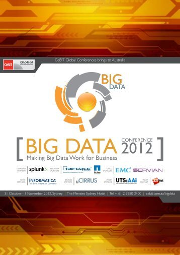 Big Data Conference - CeBIT Australia