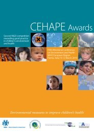 Environmental measures to improve children's health - Health and ...
