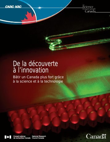 De la découverte à l'innovation - National Research Council ...