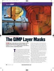 The GIMP Layer Masks - Linux Ink