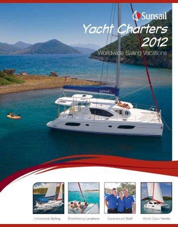 At a glance - Footloose Sailing Charters