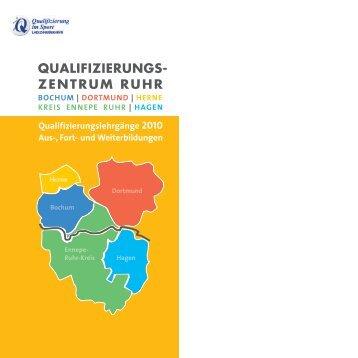 und Weiterbildungen QUALIFIZIERUNGS - StadtSportBund ...