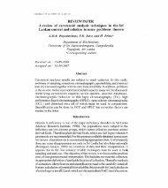 A review of carotenoid.pdf - Dl Sjp Ac Lk - University of Sri ...