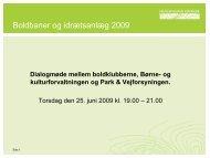Boldbanekontrakt - Bangsbo Freja