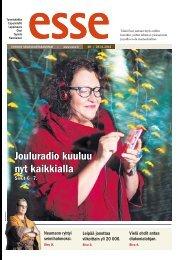 Esse 48/2012 (pdf) - Espoon seurakuntasanomat
