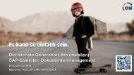 Die nächste Generation des (mobilen) SAP-basierten ...