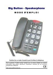 Big Button - Speakerphone - Viva