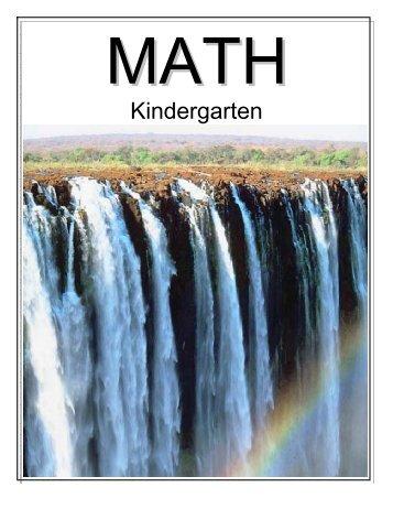 Download Kindergarten Math Companion - YourOtherTeacher.com