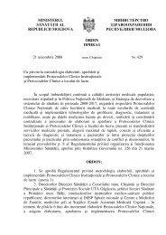 Ordin nr. 429 din 21.11.08 cu privire la metodologia elaborării ...