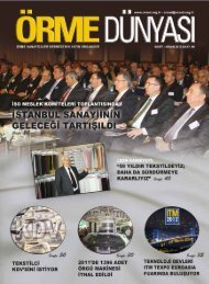 mart-nisan - Örme Sanayicileri Derneği