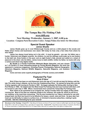 January - Page 7 - Tampa Bay Fly Fishing Club