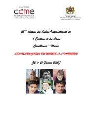 l'Edition et du Livre édition du Salon International de - CCME
