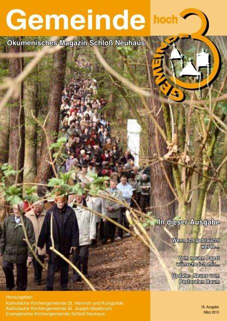 Ausgabe 16 • März 2013 - Evangelische Kirchengemeinde Schloß ...