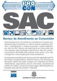 SAC (Serviço de Atendimento ao Consumidor)