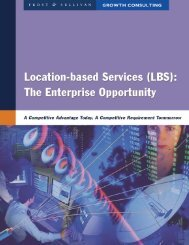 Location-Based Services - Hewlett-Packard