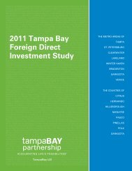 2011 Tampa Bay Foreign Direct Investment Study