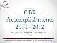 Berundi Revenue Authority - ICTD