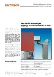 23 Minuterie mécanique - Dictator