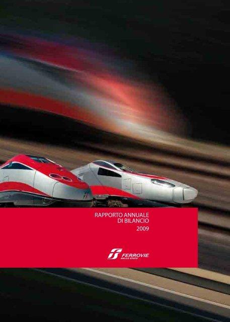 Rapporto annuale di bilancio Ferrovie dello Stato 2009 (.pdf 2537 KB)