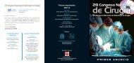 XXVIII Congreso Nacional de Cirugía - AEC_____Asociación ...