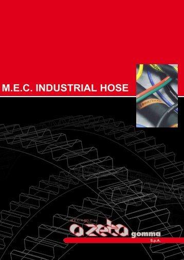 M.E.C. INDUSTRIAL HOSE - A ZETA Gomma