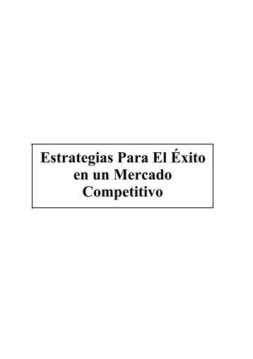 Estrategias Para El Éxito en un Mercado Competitivo índice