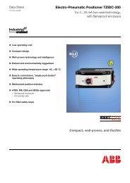 Electro-Pneumatic Positioner TZIDC-200 - Bsicontrols.net