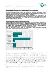 DGFP - Kurzumfrage zur Weiterbildung . pdf - Deutsche Gesellschaft ...