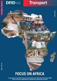 PDF (338 KB) - Transport for Development