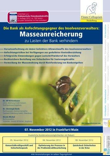 Zum Prospekt - Schneider Geiwitz & Partner