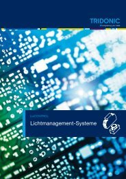 Lichtmanagement-Systeme