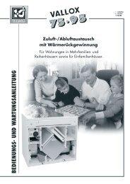 vallox 75/95 - Heinemann GmbH