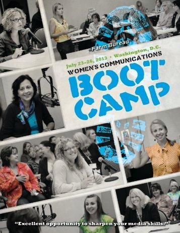 2013 Boot Camp Application - Florida Farm Bureau