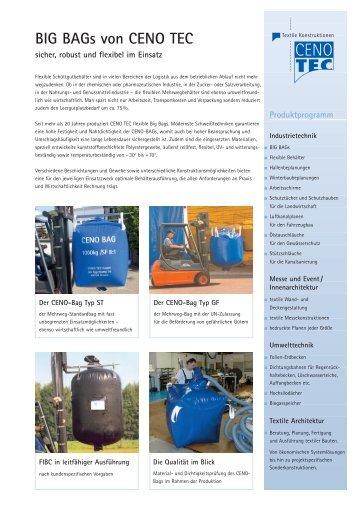 Flyer Big Bags - Sattler AG