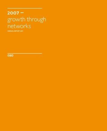 TNT Annual Report 2007 - BeursGorilla