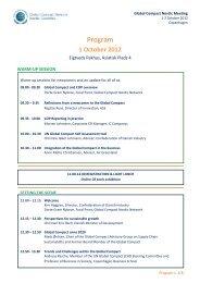 Agenda final3.pdf - Global Compact Nordic Network