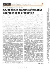 CAFO critics promote alternative approaches to production