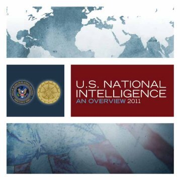 U.S. National Intelligence Community 2011 Overview - Cryptocomb