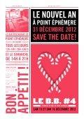 programme N o V em B re 2012 - Point éphémère - Page 4
