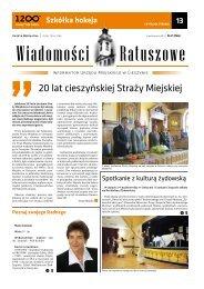 14 pazdziernika 2011.pdf - Cieszyn.pl