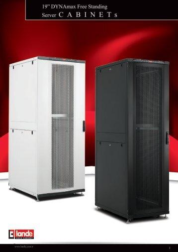 "19"" DYNAmax Series Free Standing Server Cabinets Pdf ... - LANDE"