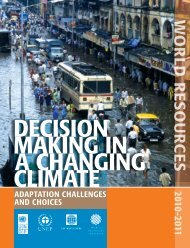 Decision Making in a Changing Climate - World Resources Institute