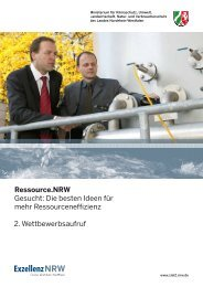 Wettbewerbsaufruf - Effizienz-Agentur NRW